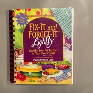 Fix It and Forget It Lightly Cookbook